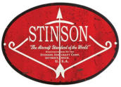 Stinson aircraft company logo for airplane appraisal