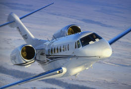 business jet over the clouds aircraft appraisal